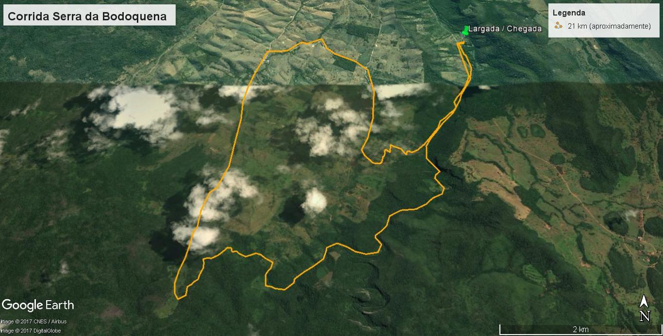21km-percurso